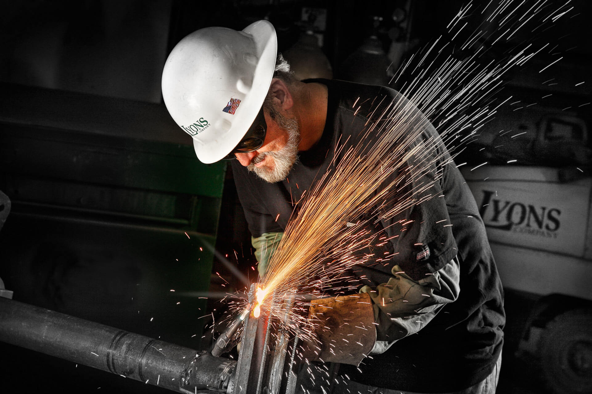 We Always Deliver Quality - Welder